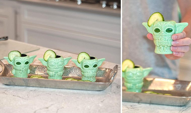 Baby Yoda Tiki Mini muglets