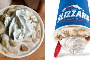 Caramel Apple Pie Blizzard