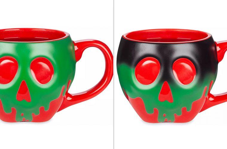 Color-Changing Poisoned Apple mug