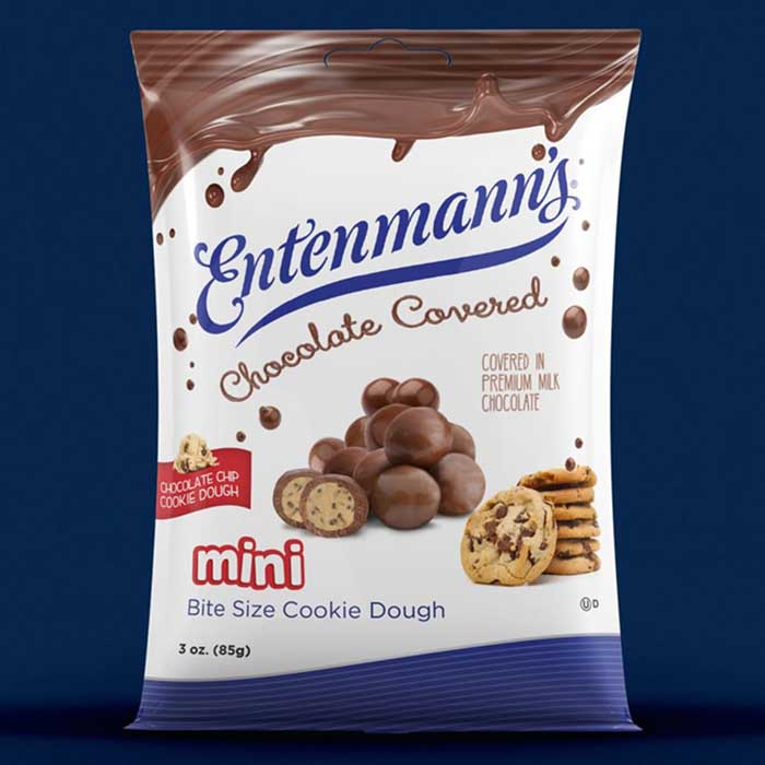 Entenmann's Chocolate-Covered Cookie Dough Bites