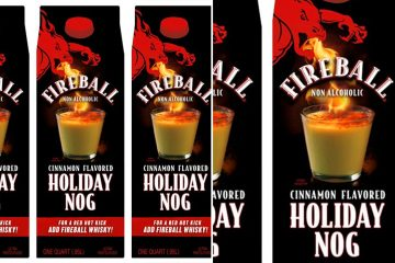 Fireball Cinnamon-Flavored Egg Nog
