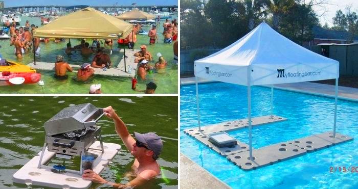 Floating bar