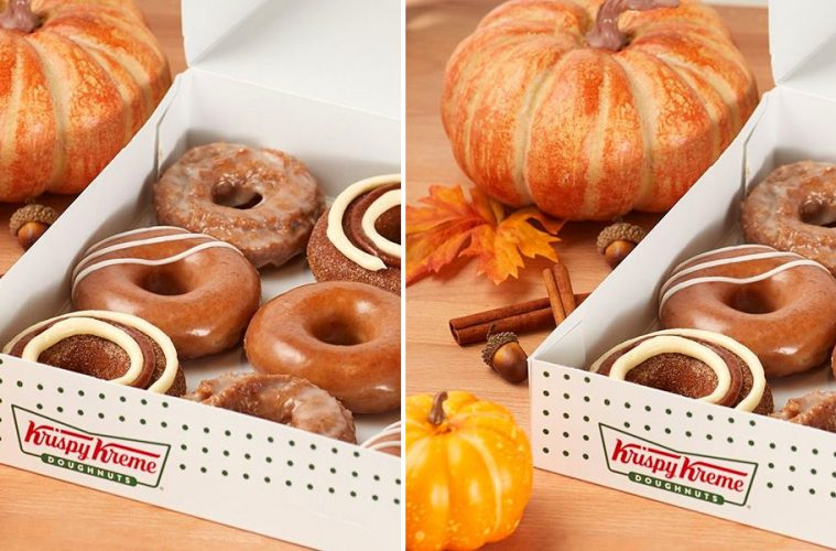 Krispy Kreme Pumpkin Spice Donuts
