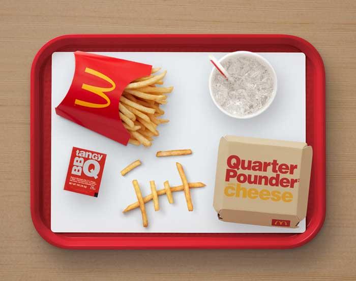 McDonalds USA Travis Scott Tray