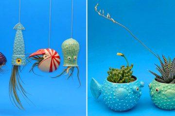 Ocean animal Planters