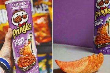 Pringles Cajun Fries