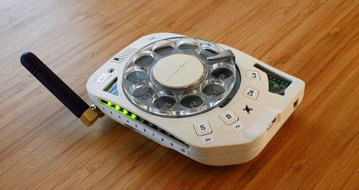 Rotary cellphone
