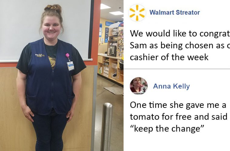 Walmart Cashier Of The Week