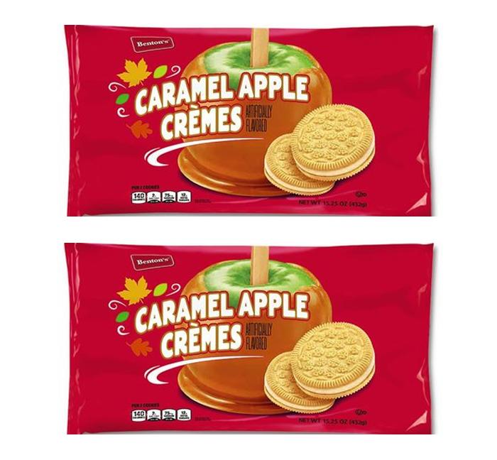 aldi apple caramel cremes cookies