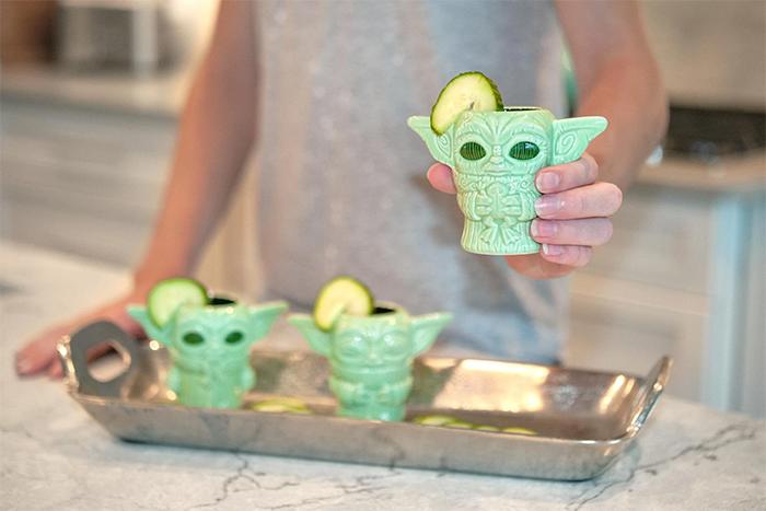 baby yoda tiki mini muglets ceramic