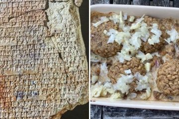 babylonian meal