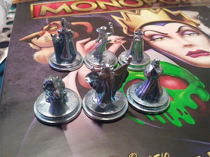 board game player pieces