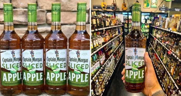 captain morgan sliced apple rum