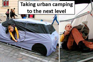 car shaped tent