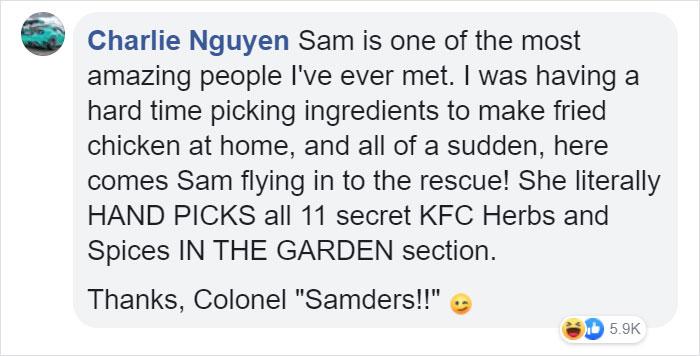charlie nguyen facebook comment walmart streator sam reynolds