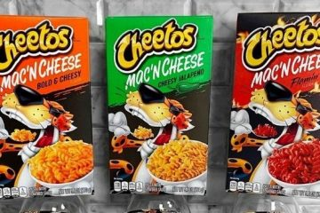 cheetos mac 'n cheese