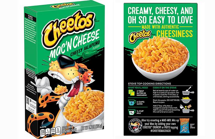 cheetos mac 'n cheese cheesy jalapeno