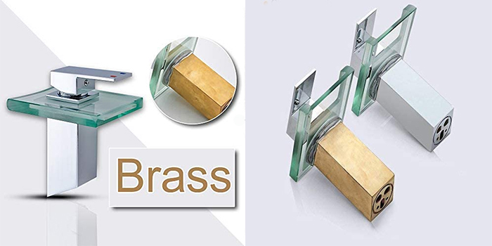color-changing faucet brass