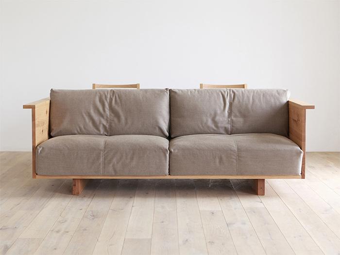 counter sofa with cushion