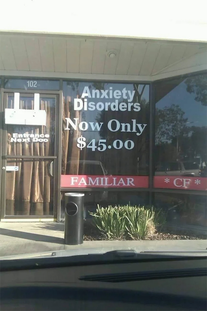 crappy designs anxiety disorders for sale