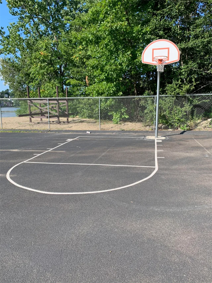 crappy designs basketball hoop placement