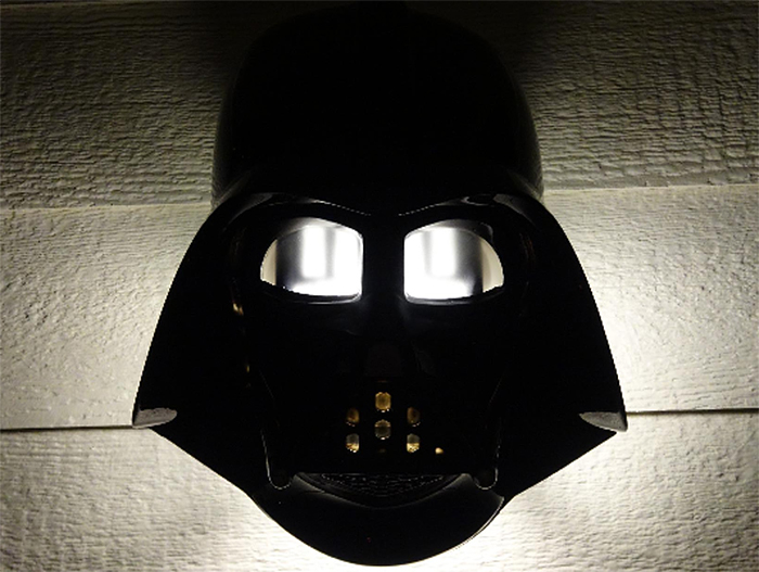 darth vader light cover