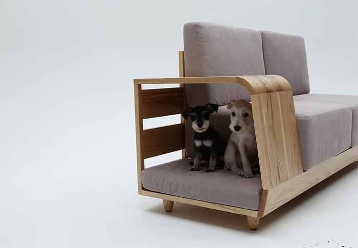 dog house couch dual-function furniture