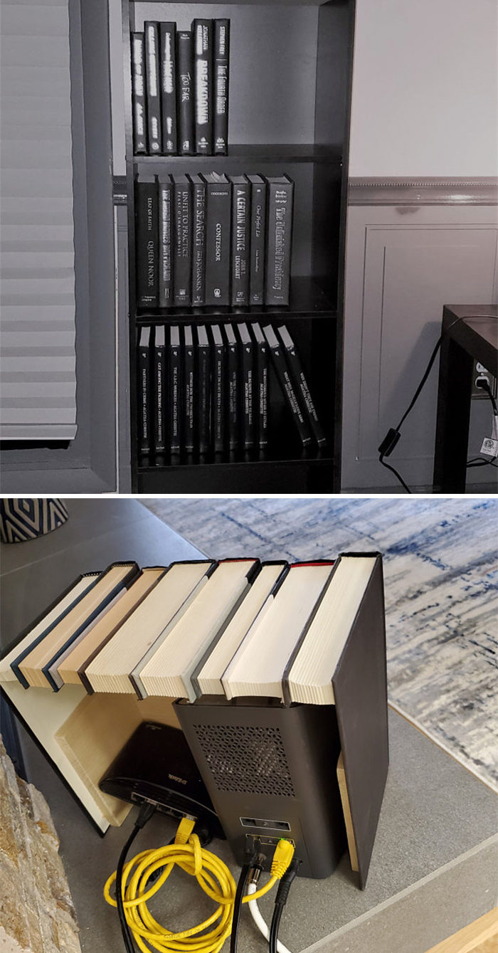 faux book box