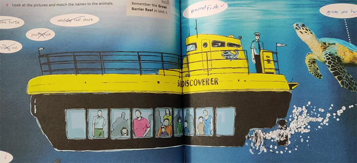 funny book illustrations submarine captain