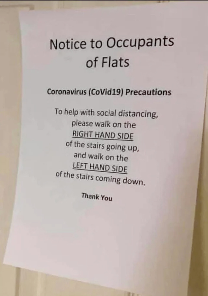 funny social distancing rules