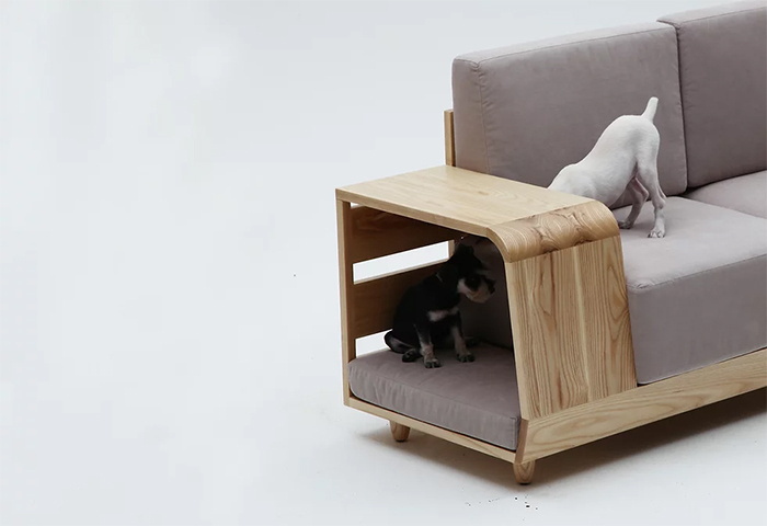 furniture sofa and pet house in one