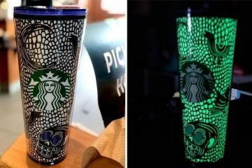 glow-in-the-dark tumbler