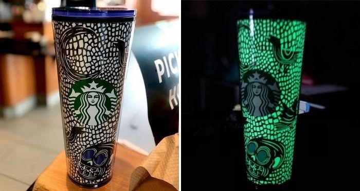 Starbucks Halloween 2020 Glow In the Dark Venti Tumbler 24oz