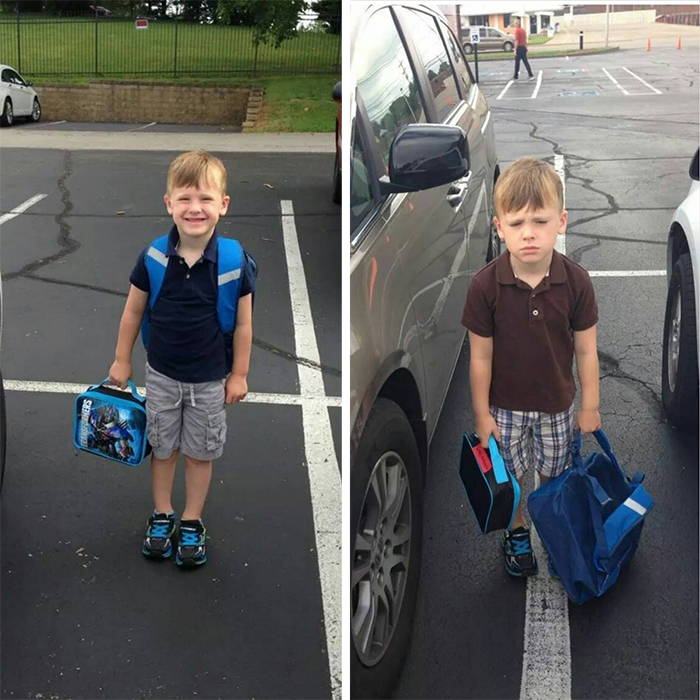 going back to school disappointment