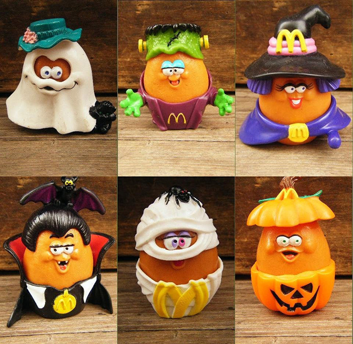 halloween chicken nugget toys