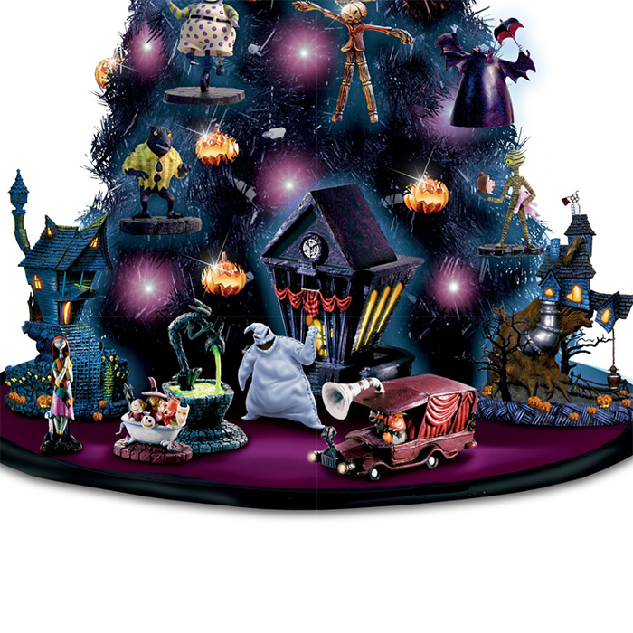 halloween tabletop tree collection