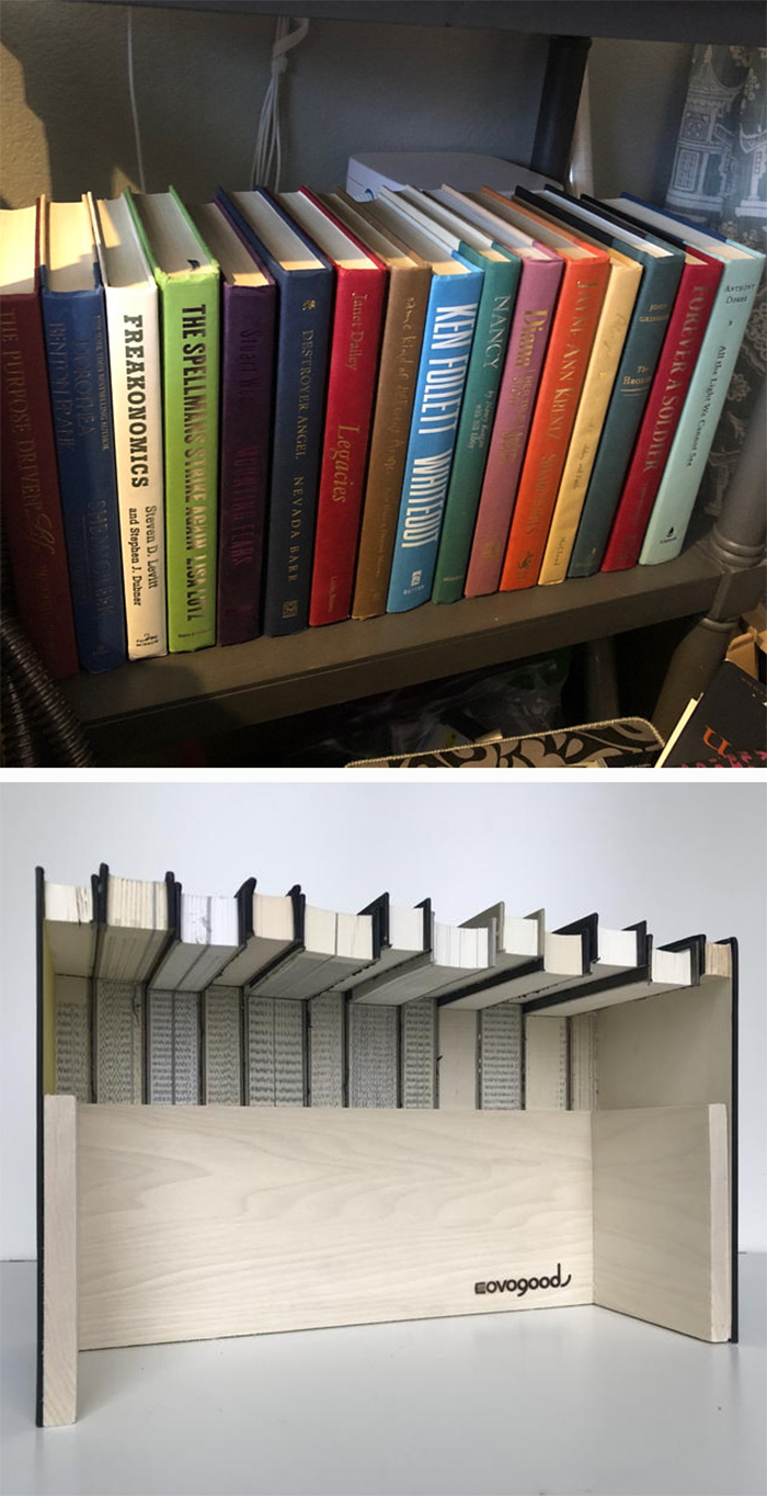 hidden storage ideas decorative book box