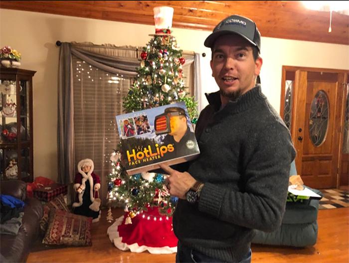 hot lips face heater prank gift