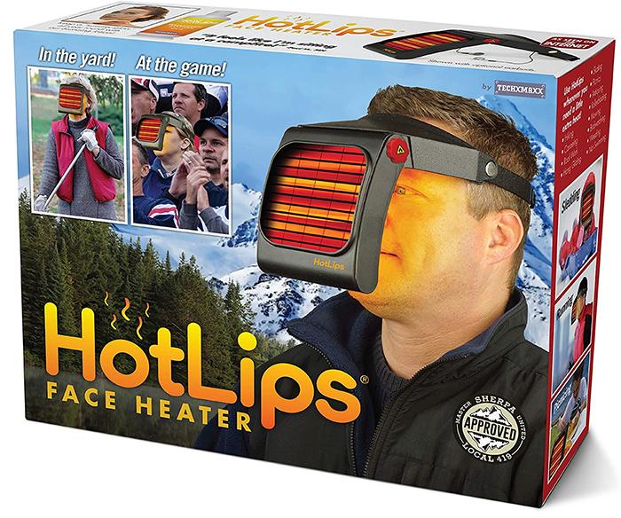 hot lips face heater