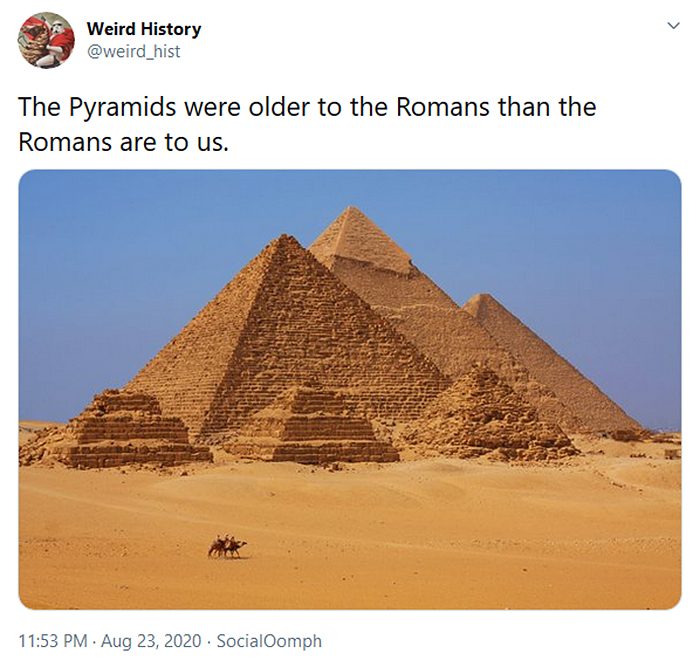 interesting historical facts old pyramids