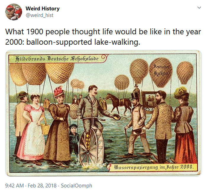 interesting historical facts year 2000 prediction