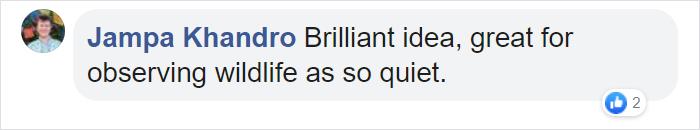 jampa khandro facebook comment railbike adventure