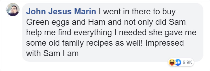 john jesus marin facebook comment walmart streator sam reynolds