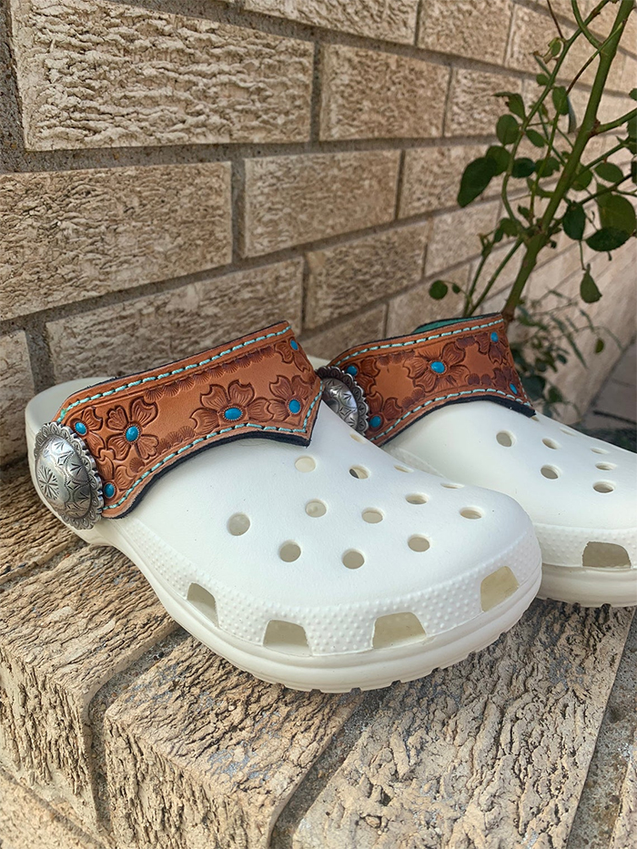 light ranching cowboy crocs