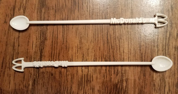 mcdonald's coffee stirrers