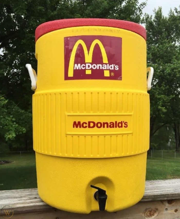 mcdonald's cooler jug