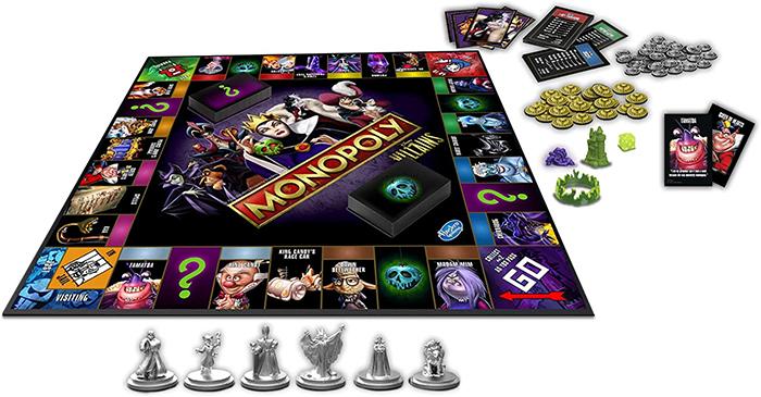 monopoly disney villains edition