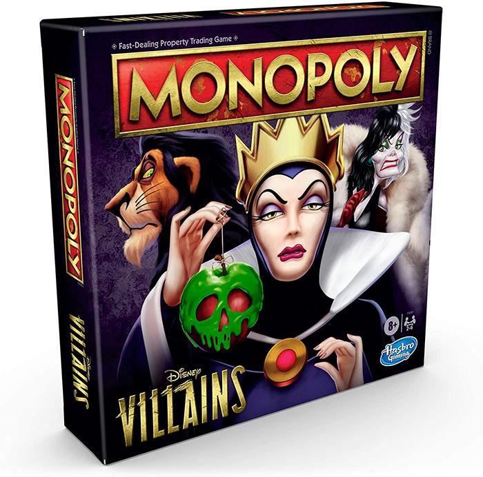monopoly disney villains game edition
