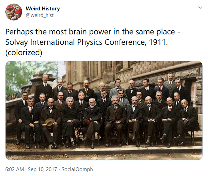 most brain power in the same place