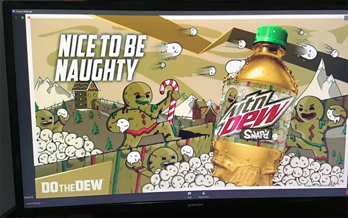 mountain dew gingerbread flavor
